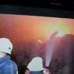 Santiago.- Pánico Por Incendio De Tres Casas Cerca De Una Planta De Gas