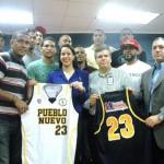 Santiago.- Baloncesto Pueblo Nuevo Presenta Jugadores Y Patrocinio