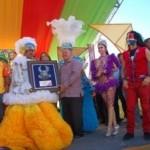 Santiago.- Alcalde Resalta Trayectoria De Raudy Torres Y Pondera Sus Aportes Al Carnaval De La Ciudad Corazón