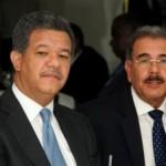 Presidente Danilo Medina Se Reúne Con Presidente Ex-Leonel Fernández