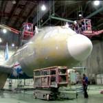 Cómo Pintar Un Avión, Tras La Fusión Entre American Airlines Y US Airways (Vídeo)