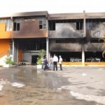 Santiago.- Incendio Destruye La Casa Dominicana