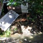 Santiago.- Varias Casas Fueron Afectadas Por Lluvias