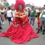 Santiago.- Carnaval De La Ciudad Desbordante Manifestación De Pueblo