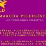 """Santo Domingo.- Militantes Del PLD Convocan A Marcha """"¡No Todos Somos Corruptos!"""""""