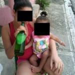 Santiago.- Arrestan A Madre Que Publicó Fotos Dando Bebidas Alcohólicas A Su Hija